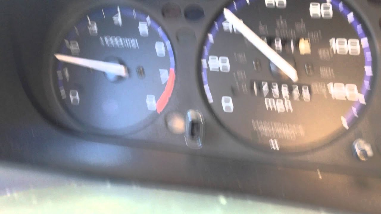 1998 Honda Civic Lx D16y7 Fluctuating Rpm Tachometer Part 2 Of 1996 Fuel Gauge