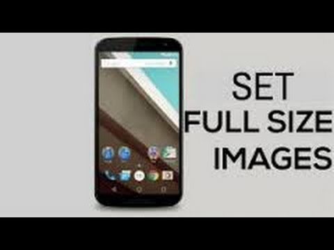 How To Set Full Screen Wallpaper Without Crop On Android