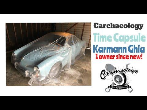 Carchaeology: 1 Owner 1969 VW Karmann Ghia