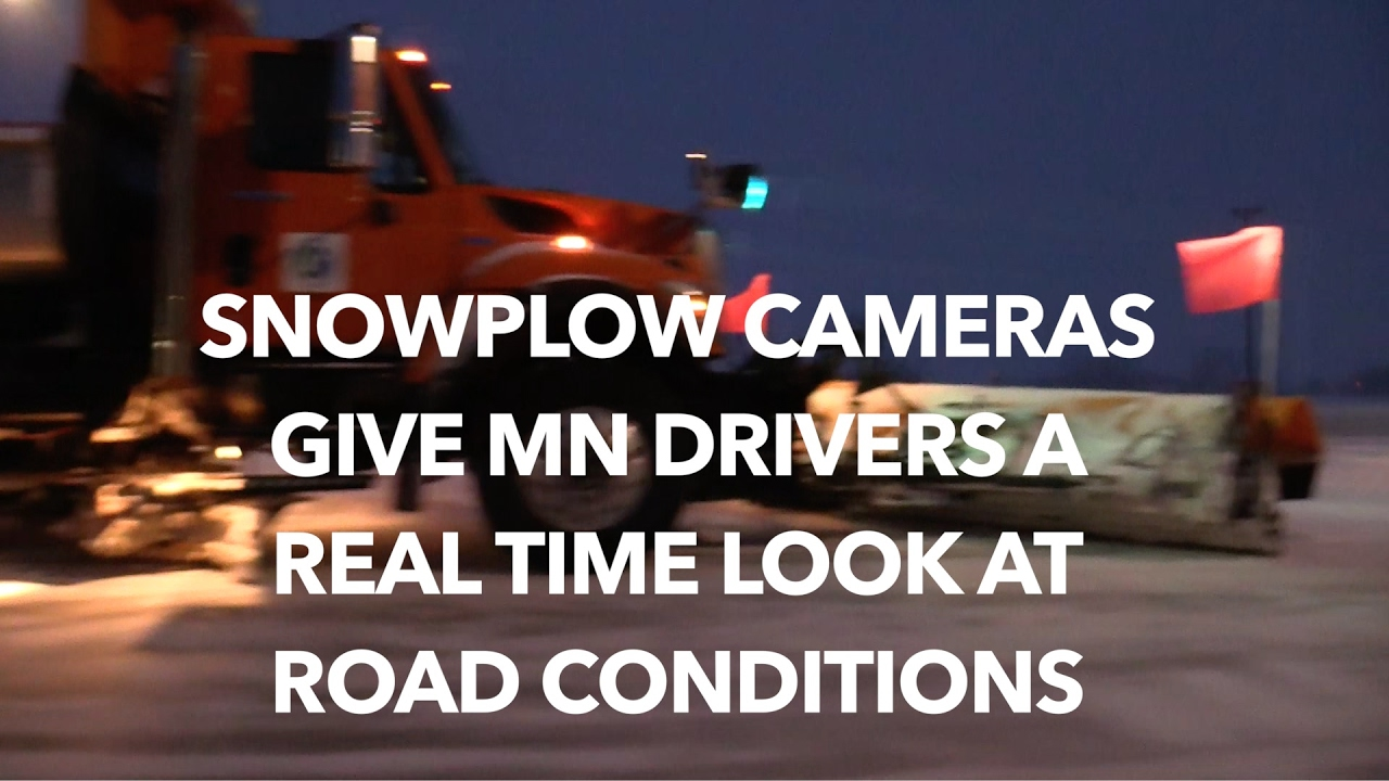 Snowplow cameras give MN drivers new option to check road conditions
