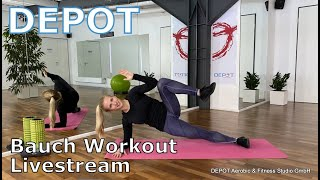 DEPOT Bauch Workout Livestream
