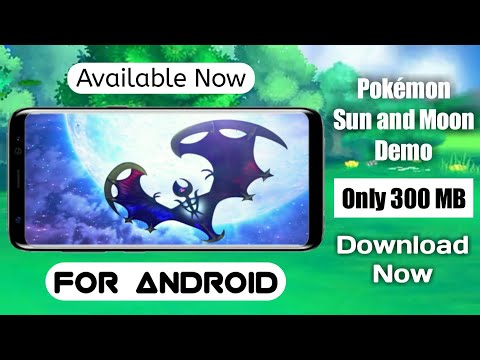 [300MB] How To Download Pokémon Sun And Moon On Android Device