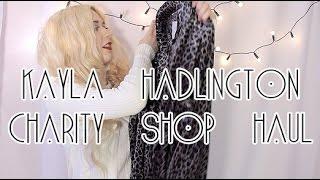 One of Kayla Hadlington's most viewed videos: charity shop haul | kayla hadlington