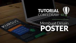 Tutorial desain grafis Membuat Desain Poster di coreldraw