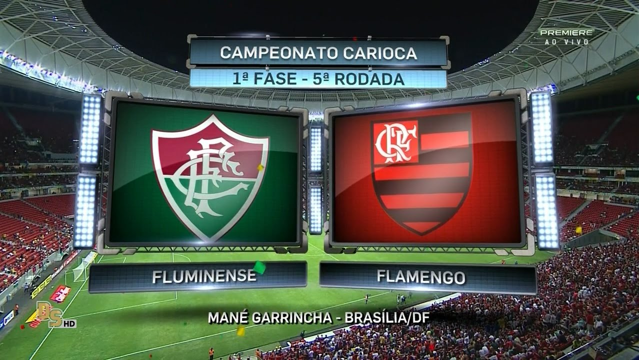 7768593b710f7 Jogo completo Fluminense 1 x 2 Flamengo - 1ª fase Carioca 2016 - YouTube
