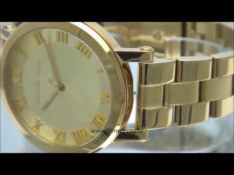 6164d6f0fa28 Michael Kors Ladies  Petite Norie Ceramic Watch (MK3700) by ...