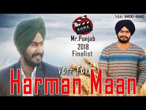 Kamz Kreationz Mr. Punjab 2018 || Semi Finalist || Harman Mann (Talwandi Sabo)