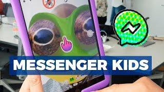Messenger Kids disponible en México