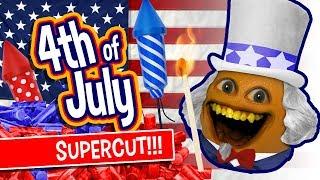 Annoying Orange - 4th of July Supercut!