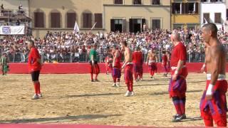 "Teaser for the Calcio Storico movie (""The Tourist"")"