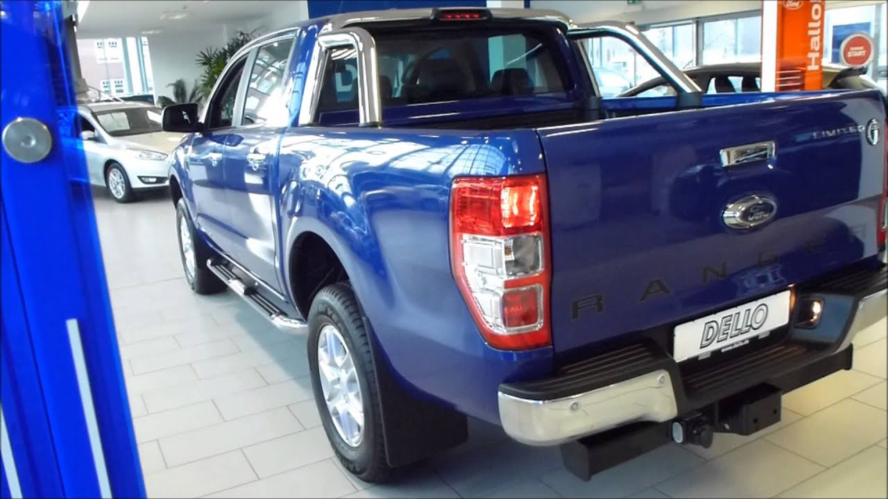 2015 ford ranger double cab limited exterior interior 22 tdci 150 hp see also playlist youtube - Ford Ranger 2015 Interior