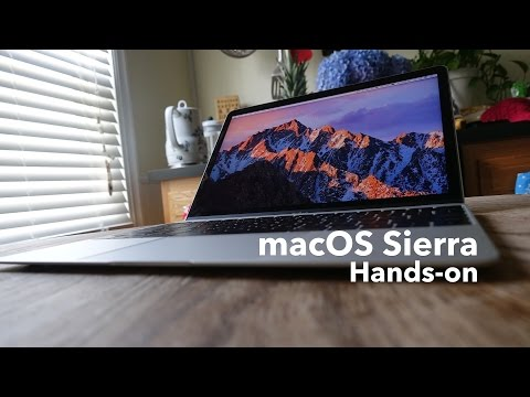 macOS Sierra: new features and changes