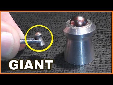 "We shoot GIANT 70 cal ""Gammo Rockets"" from a Shotgun!   (Concept Slug)"