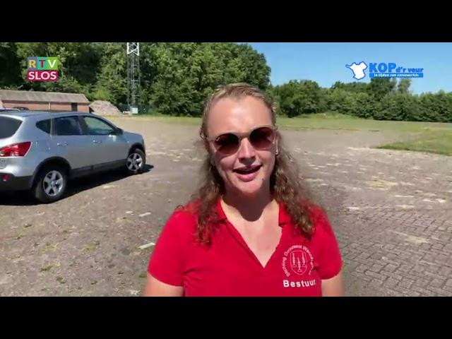 Gabi Fleming en Lisanne van Dalen in de uitzending van Kop d'r Veur op 24 juni 2020