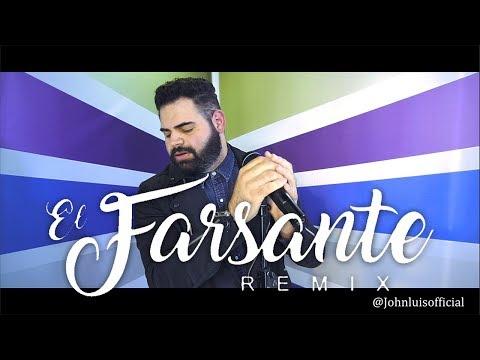 Ozuna x Romeo Santos - El Farsante Remix (John Luis) English Cover