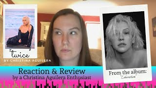 """Reacting to """"Twice"""" by Christina Aguilera"""