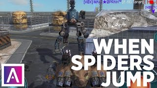 War Robots [WR] - When Spiders JUMP (Jumping Fujin!)
