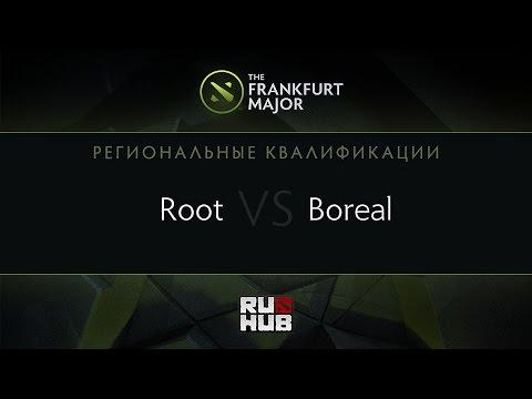 Root vs Boreal, Frankfurt Major Quali, AM Round 4, Game 1