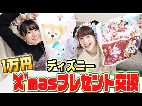 【ディズニー】1万円でクリスマスプレゼント交換してみた
