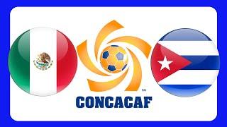 MEXICO CUBA CONCACAF GOLD CUP 2015 +++ GERMAN