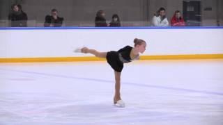 Лиза Овсянникова (Оренбург) 3-ий юношеский разряд