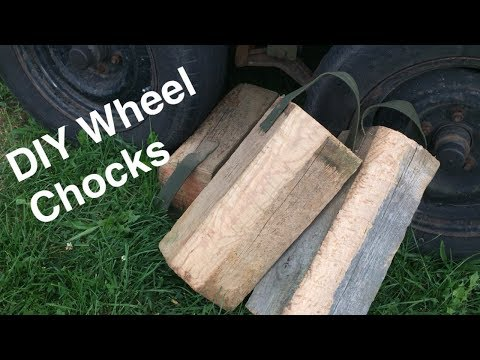 CHEAP DIY Wheel Chocks
