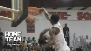 Andrew Wiggins DUNK Of The Year!!?? POSTERIZES Defender Then Stares Him Down!!