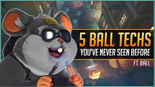 5 ADVANCED WRECKING BALL TECHS ft. ball_overwatch