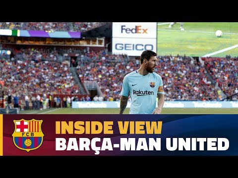 INSIDE TOUR | Behind the scenes: Barça - Manchester United (ICC 2017)