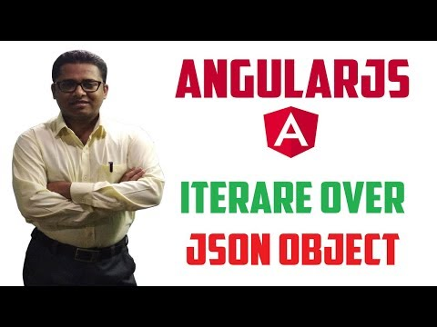 How to Iterate or Loop over JSON Object using AngularJS