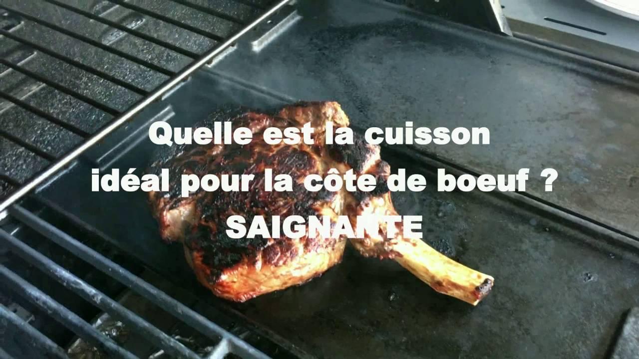 Comment cuire une cote de boeuf au barbecue a la bonne - Comment griller une cote de boeuf au barbecue ...