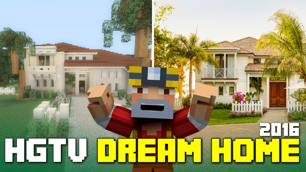 Minecraft xbox one hgtv dream home 2016 tour youtube for Hgtv dream home 2016