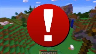 I'm notifying you of this Minecraft video.. (please watch)
