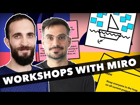 Remote Workshops With Miro! (Live Walkthrough + Templates)