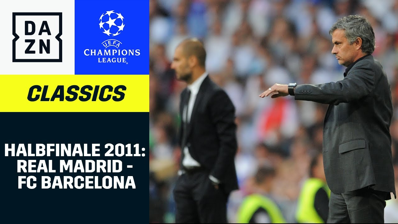 Mourinho vs. Guardiola: Hitziger Clasico in der Königsklasse | UEFA Champions League | DAZN Classics