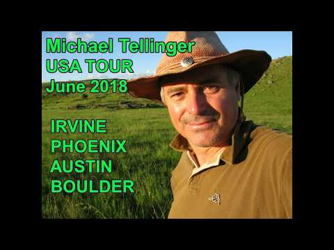 Michael Tellinger 2018 USA TOUR Info 1-15 June