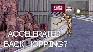 Accelerated Back Hopping in Half-Life 1