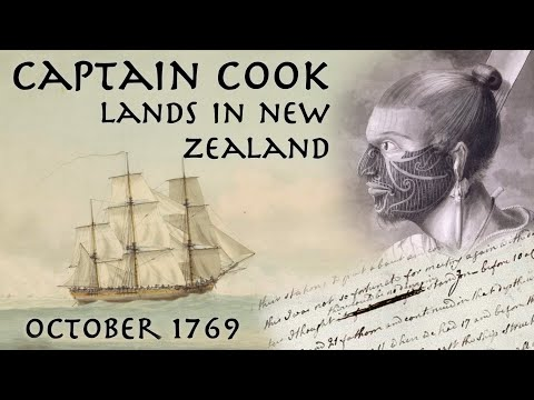 Captain Cook Lands In New Zealand // 1769 Journal Entry // Primary Source