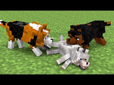 Monster School : GoodBye To My Dog - Sad Ending + Sad Story - Minecraft Animation