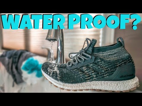 NEW WATERPROOF ULTRA BOOSTS!! - YouTube