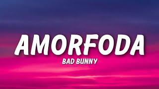 Bad Bunny - Amorfoda (Lyrics)