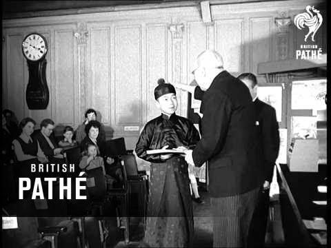 Deaf Chinese Boy Wins Art Prize (1959)