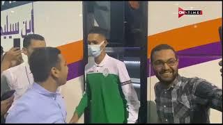 ملعب ONTime - خاص .. وصول الرجاء المغربي مطار القاهرة