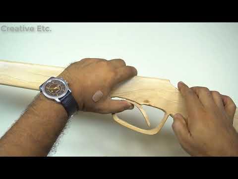 Cara Membuat Ketapel Shotgun Dengan Mudah Dan Mematikan