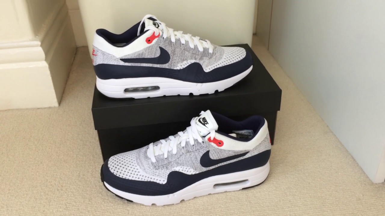 nike air max 1 flyknit id 2016 youtube. Black Bedroom Furniture Sets. Home Design Ideas