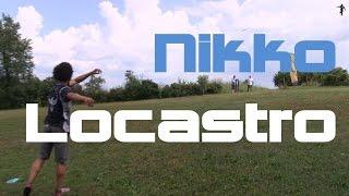 disc golf mini clip nikko locastro long throw in for birdie