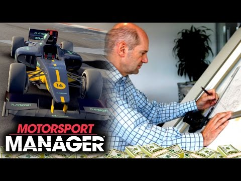 NEW DESIGN CENTRE - WE NEED AN ADRIAN NEWEY | Motorsport Manager PC