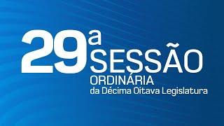 29ª Sessão Ordinária da Décima Oitava Legislatura - TV CÂMARA ITANHAÉM