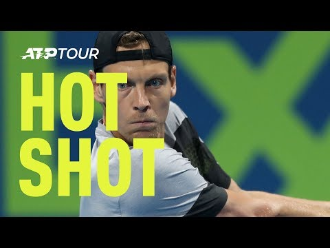Hot Shot: Berdych On The Stretch At Doha 2019