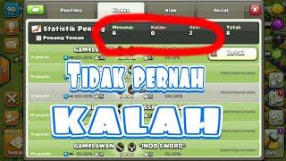 Tips & Trik cara cara TIDAK PERNAH KALAH DALAM WAR..clash of clans indonesia